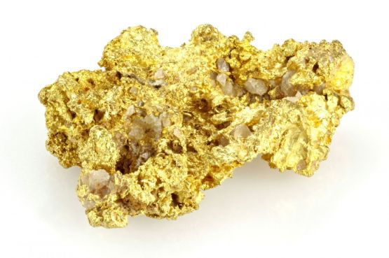 Search for gold (sulfide type)